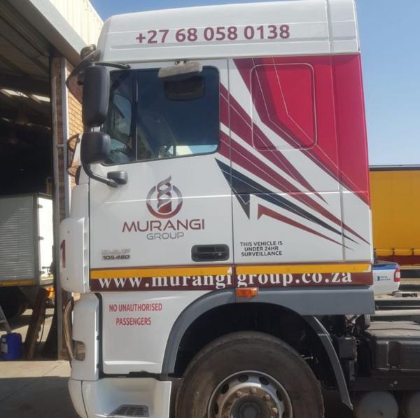 ethics creative group truck branding