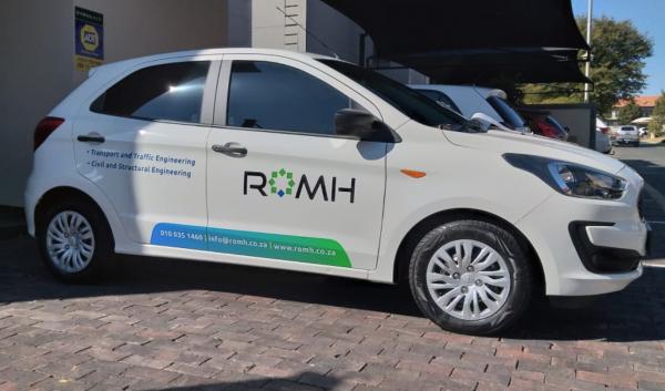 ethics creative group partial vehicle branding